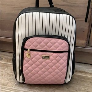 Luv Betsey large pink backpack